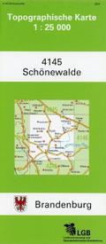 Schönewalde 1 : 25 000