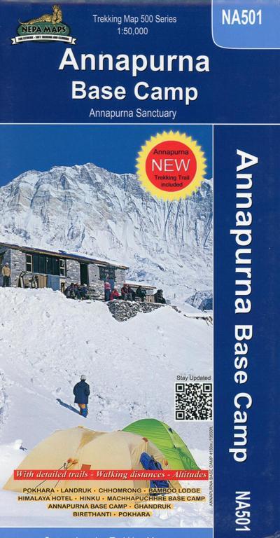 Annapurna Base Camp 1 : 50 000