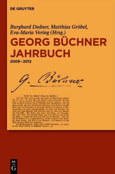 Georg Büchner Jahrbuch