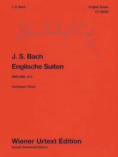 Englische Suiten BWV 806-811, Klavier