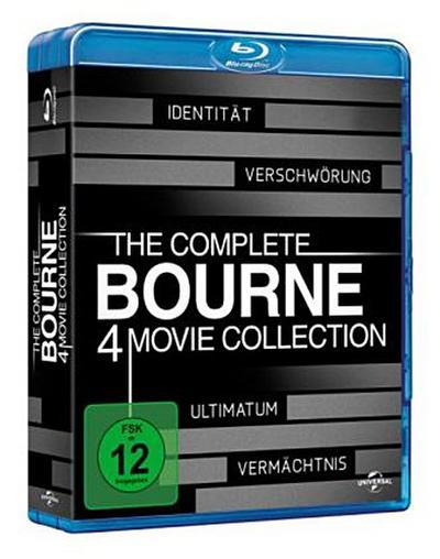 The Complete Bourne 4 Movie Collection