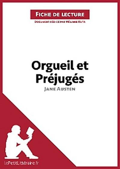 Orgueil et Préjugés de Jane Austen (Fiche de lecture)