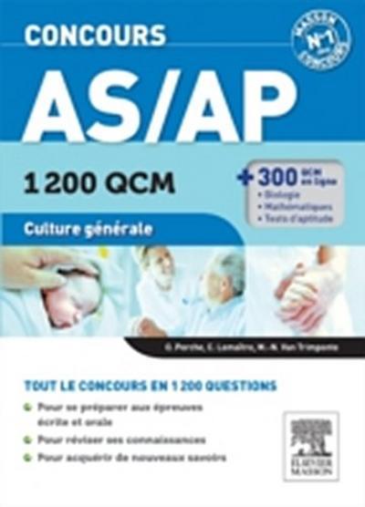 Concours AS/AP 1 200 QCM Culture generale