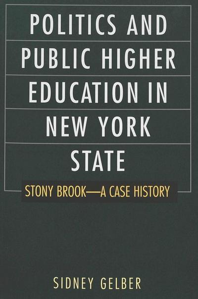 Politics and Public Higher Education in New York State