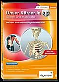Didaktische DVD Unser Körper in 3D - Skelett  ...