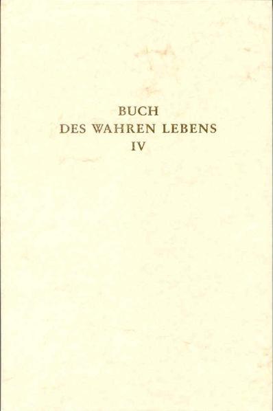 NEU Buch des Wahren Lebens 4  672298