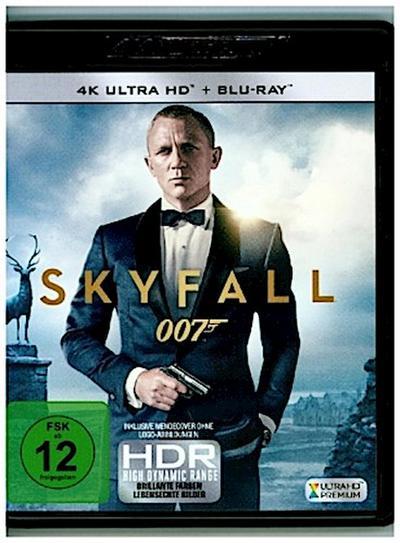James Bond 007 - Skyfall 4K, 1 UHD-Blu-ray + 1 Blu-ray