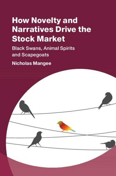 How Novelty and Narratives Drive the Stock Market: Black Swans, Animal Spirits and Scapegoats