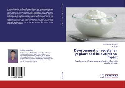 Development of vegetarian yoghurt and its nutritional impact