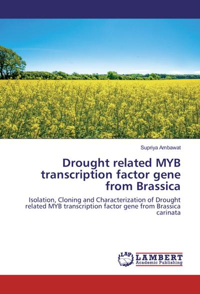 Drought related MYB transcription factor gene from Brassica
