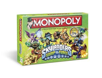 Winning Moves 43256 - Monopoly: Skylanders Swap Force