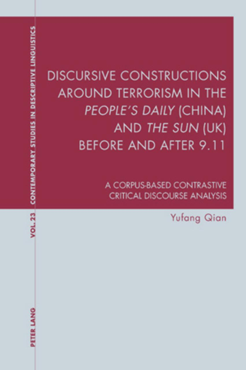 Yufang Qian : Discursive Constructions around Terrorism in t ... 9783034301862