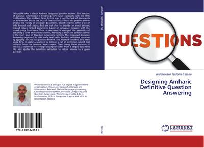 Designing Amharic Definitive Question Answering