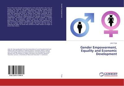 Gender Empowerment, Equality and Economic Development