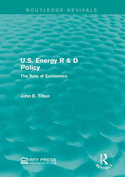 U.S. Energy R & D Policy