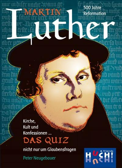 Huch & Friends 879592 - Martin Luther - Das Quiz, Familien Standardspiele