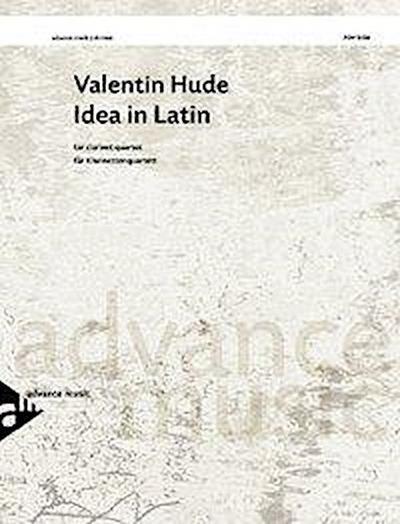 Idea In Latin