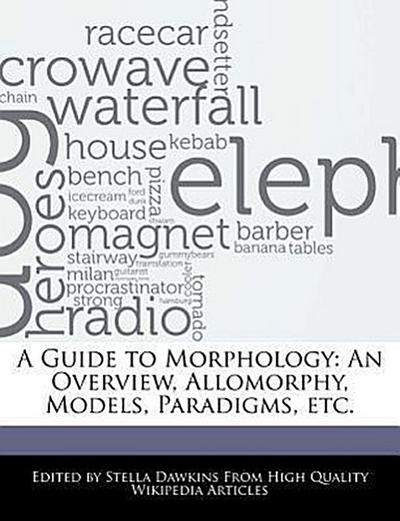 A Guide to Morphology: An Overview, Allomorphy, Models, Paradigms, Etc.
