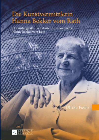 Die Kunstvermittlerin Hanna Bekker vom Rath
