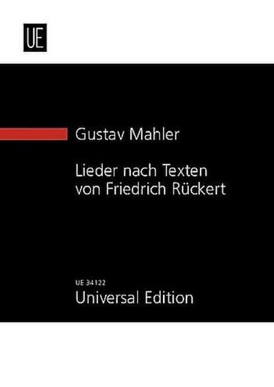 Lieder nach Texten von Friedrich Rückert
