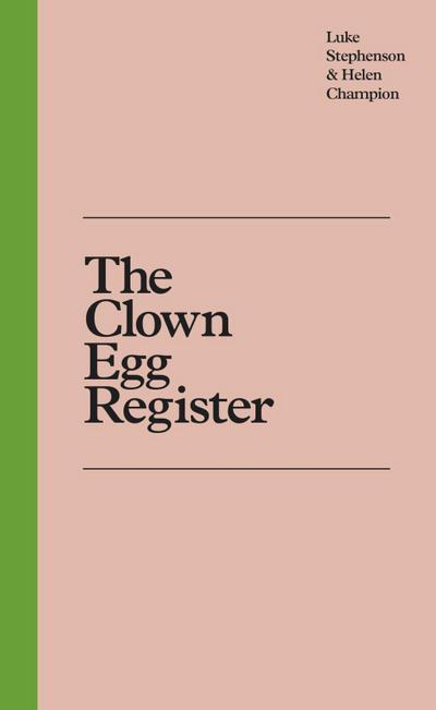 The Clown Egg Register