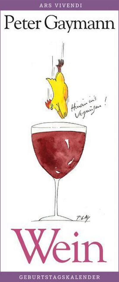 Geburtstagskalender Wein