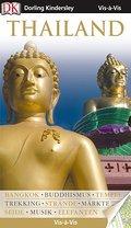 Vis-à-Vis Thailand; Vis-à-Vis; Deutsch; über 1500 farb. Fotos, Ill. u. Ktn, Schnittzeichn. u. Grundr.