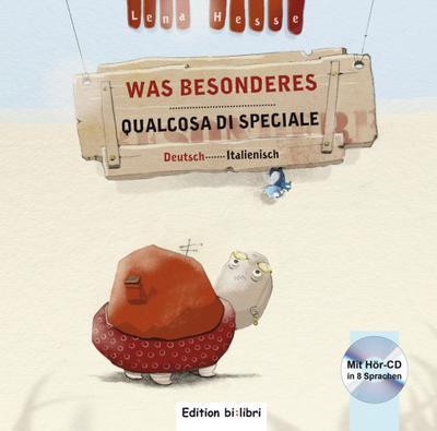 Was Besonderes, m. Audio-CD, Deutsch-Italienisch. Qualcosa di Speciale
