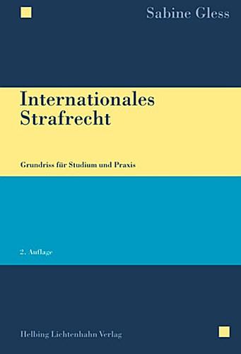 Internationales Strafrecht Sabine Gless