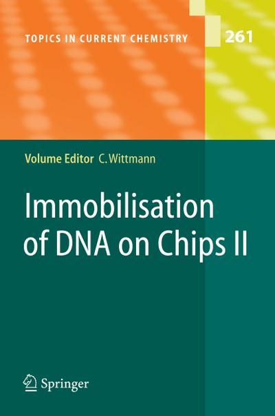 Immobilisation of DNA on Chips II