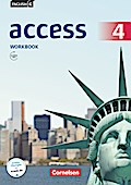 English G Access - Allgemeine Ausgabe: Band 4: 8. Schuljahr - Workbook mit Audio-CD