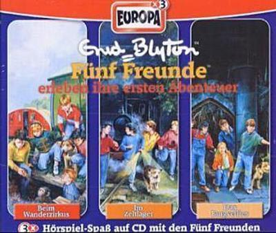 Fünf Freunde erleben ihre ersten Abenteuer, 3 Audio-CDs