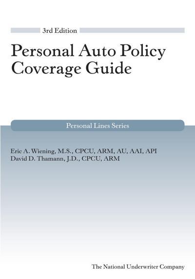 Personal Auto Coverage Guide