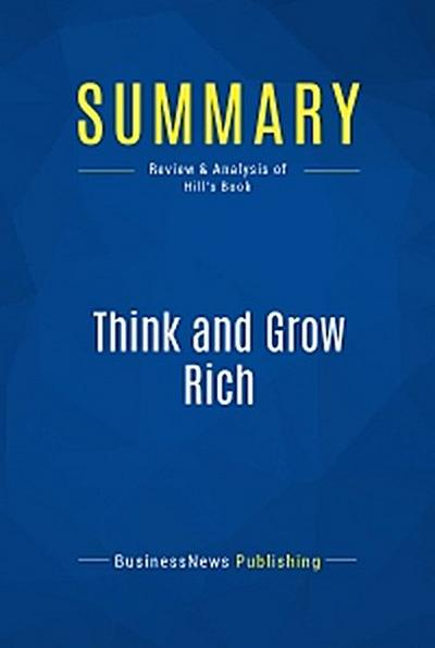 Summary: Think and Grow Rich