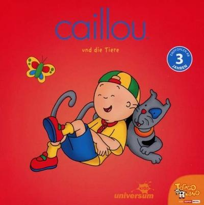 Caillou Und Die Tiere (Divers) Cd