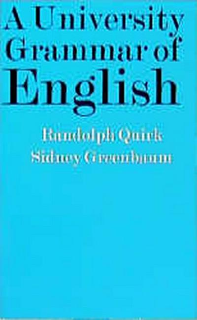 A University Grammar of English (Unigraeng)