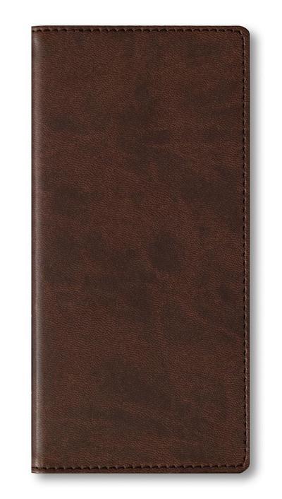 Adressbuch Pocket Tucson Brown
