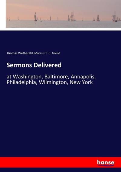 Sermons Delivered