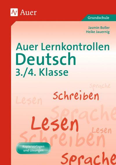 Auer Lernkontrollen Deutsch