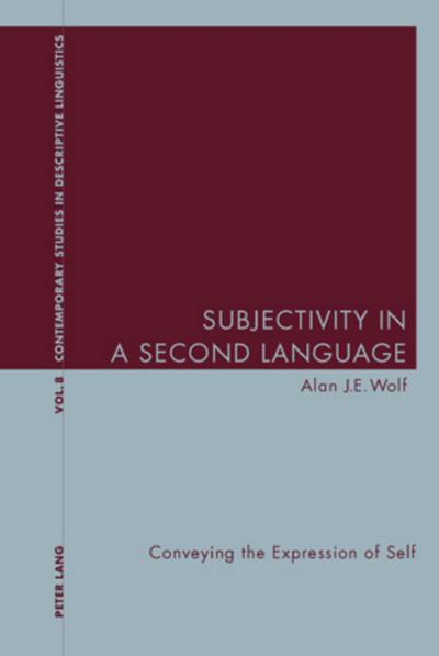 Subjectivity in a Second Language