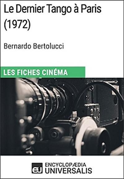 Le Dernier Tango à Paris de Bernardo Bertolucci