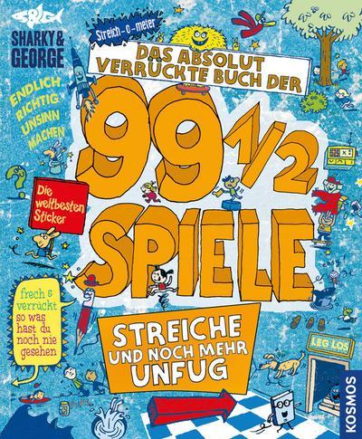 Das absolut verrückte Buch der 99 1/2 Spiele