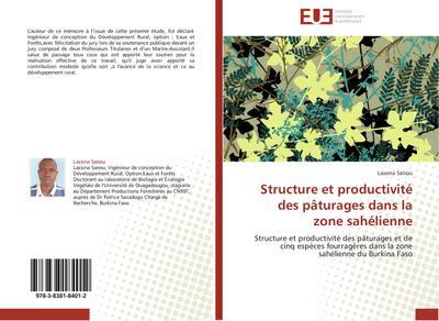 Structure et productivité des pâturages dans la zone sahélienne