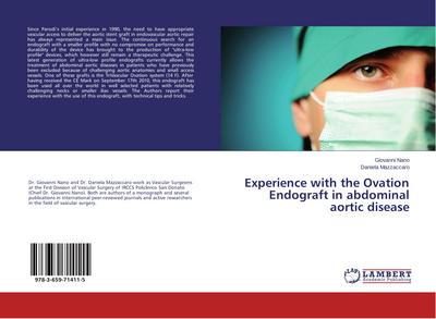Experience with the Ovation Endograft in abdominal aortic disease