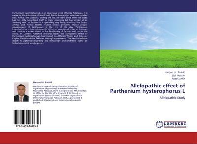 Allelopathic effect of Parthenium hysterophorus L