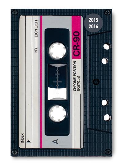 Collegetimer Pocket Tape 2015/2016 - Schülerkalender A6 - Weekly - 224 Seiten - Alpha Edition - Gebundene Ausgabe, Englisch| Französisch| Deutsch| Italienisch, Alpha Edition, Schülerkalender, 1 Woche 2 Seiten, Schülerkalender, 1 Woche 2 Seiten