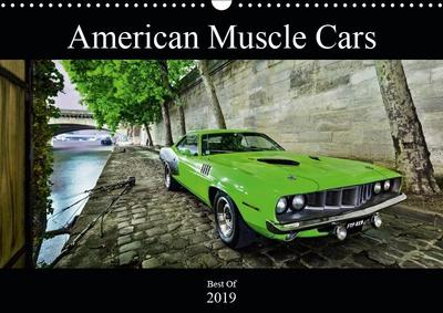 American Muscle Cars (Wall Calendar 2019 DIN A3 Landscape)