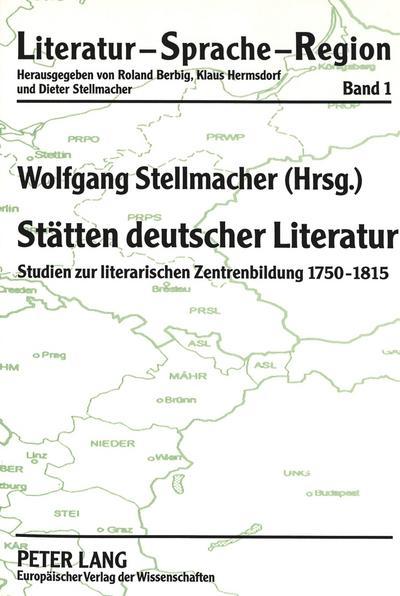 Stätten deutscher Literatur