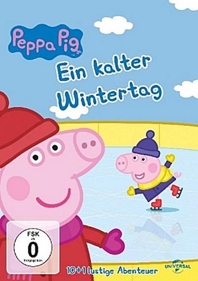 Peppa Pig - Ein kalter Wintertag, 1 DVD