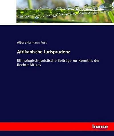 Afrikanische Jurisprudenz